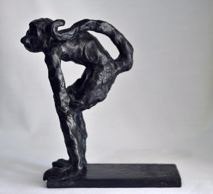 SPIDER MONKEY , CAST BRONZE, UN - barakesculptor | ello