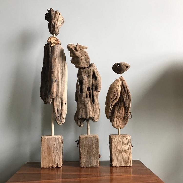 Driftwood sculptures - eydiexo | ello