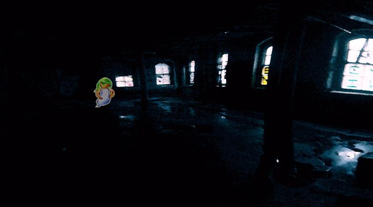 Ghost Girl - ghost, girl, darkroom - mangekkojones | ello