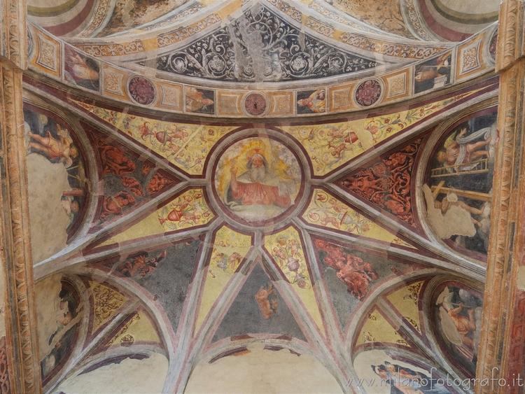 Milan (Italy): Vault apse Orato - milanofotografo | ello