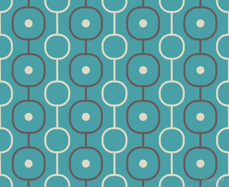 Geometric Pattern: Circle Chain - red_wolf | ello