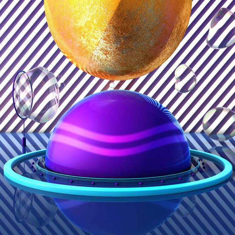 Sphere - 3d, 3dart, c4d, maxon, maxonc4d - mographmartin | ello