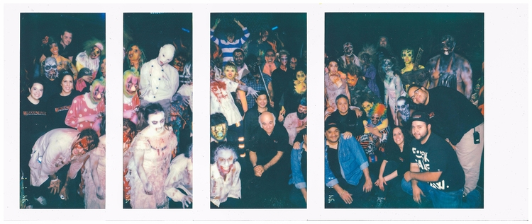 Nick McManus Halloween Polaroid - conartistcollective | ello