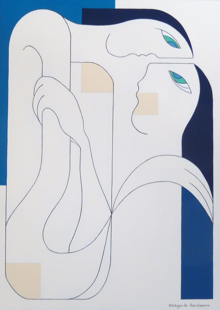 Submitted [Artist Invites Socia - hildegardehandsaeme | ello