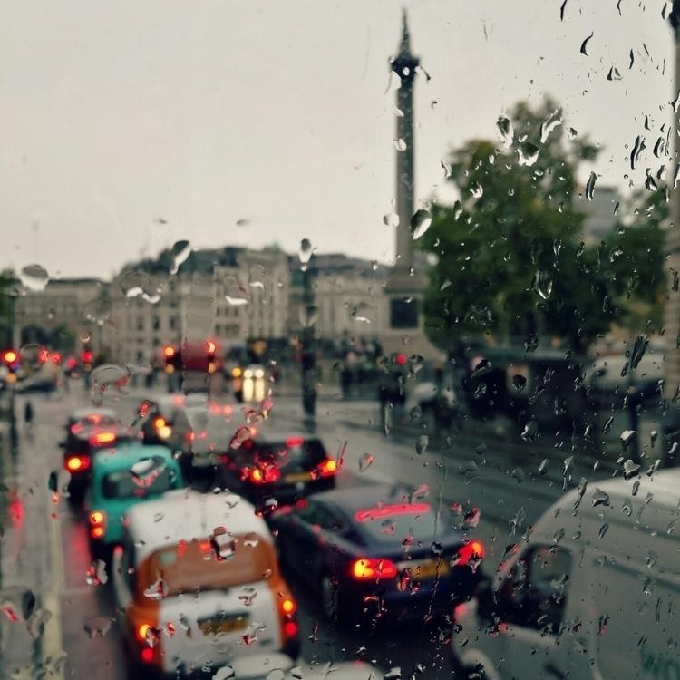 Raindrops bejewel window London - estelleclarke | ello