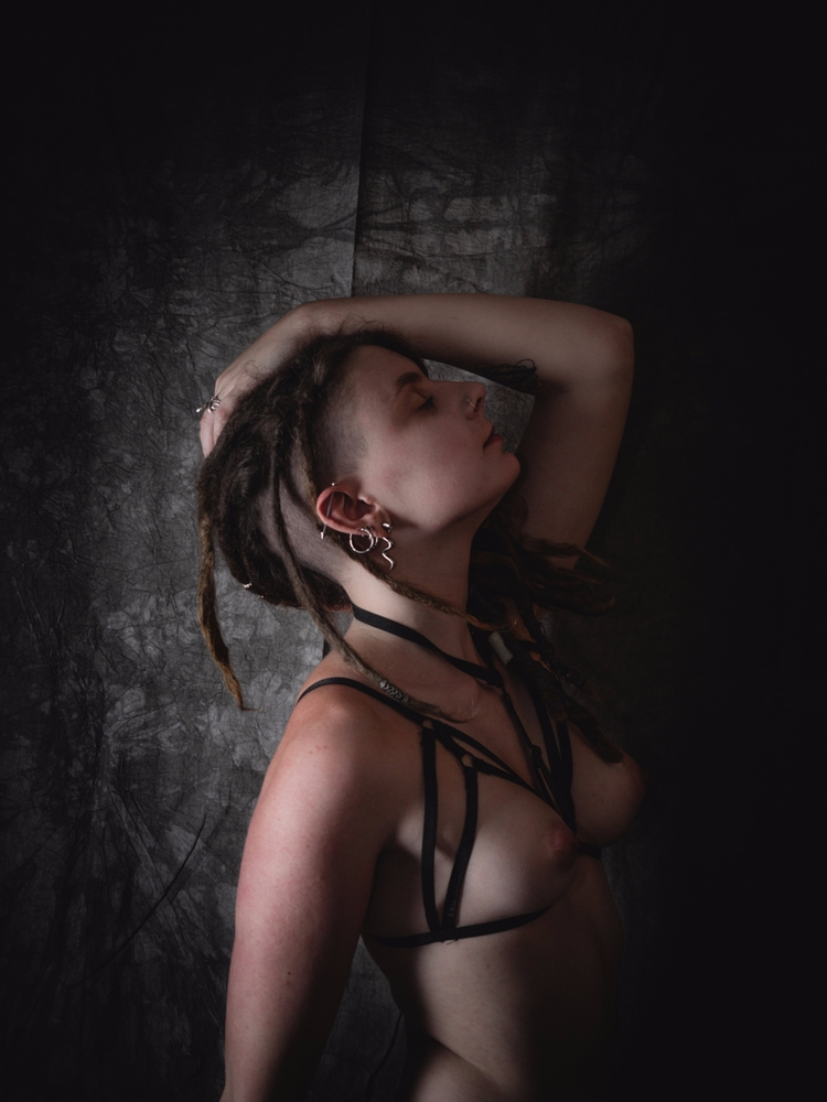 Courtesy - photography, dark, model - f-delancey | ello