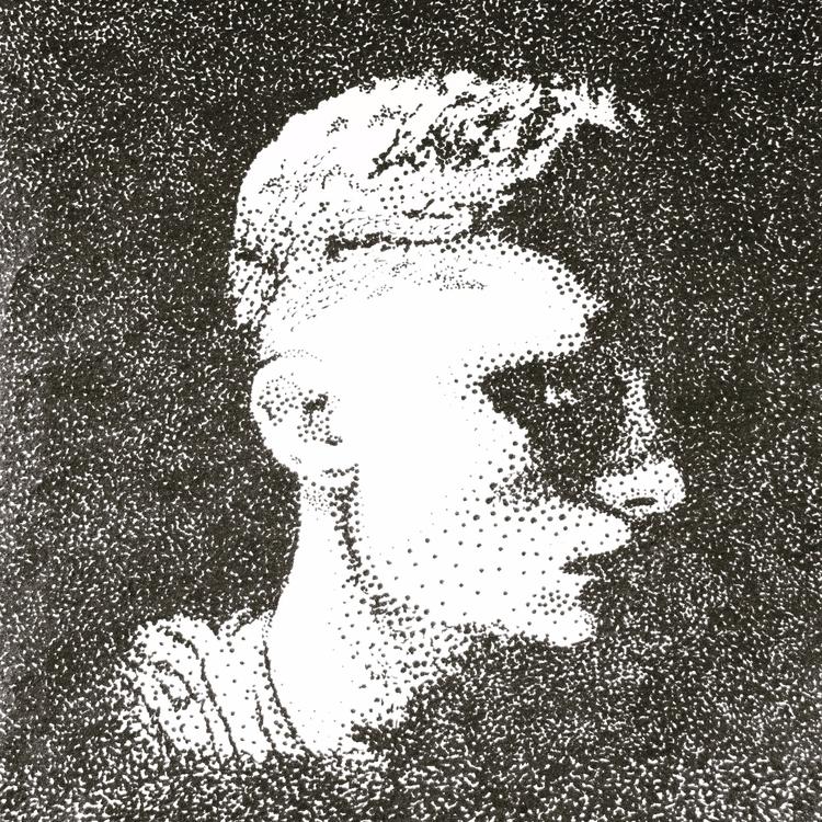 portrait, pen ink, 9/4/17 jomar - jomartinusen | ello