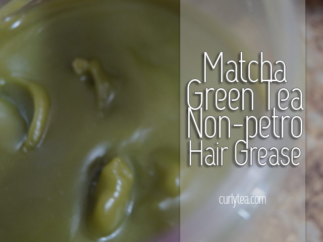 Matcha Green Tea Hair Grease [V - curlytea | ello