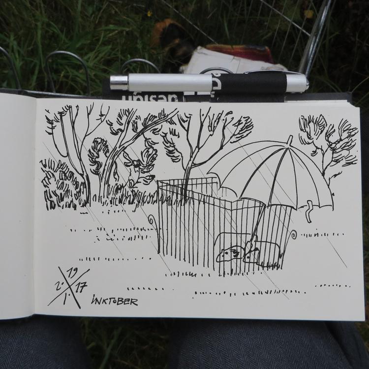 Guinea pigs wet grass, Bjerge B - mentalhygiejne | ello