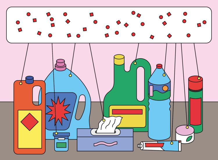 Endocrine disruptors illustrati - molonom | ello