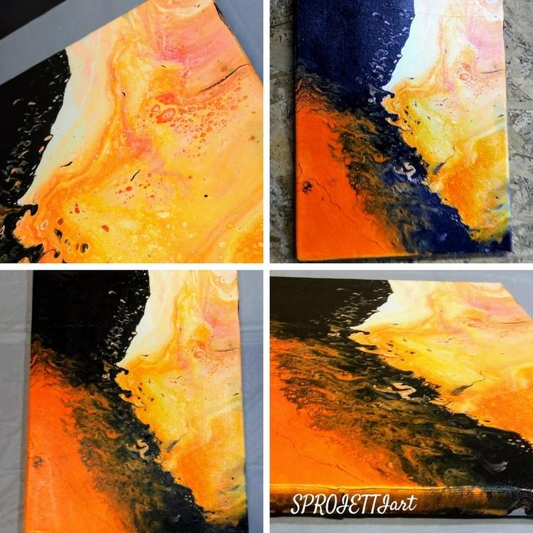 abstract, painting, ellolove - sproiettiart | ello