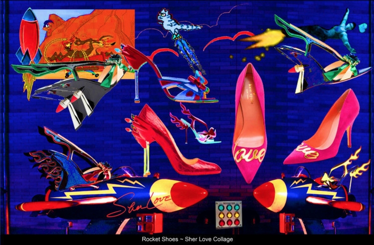Rocket Shoes ~ Sher Love Collag - sherlove | ello