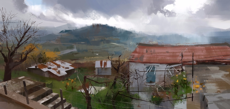 virtual plein air - anna_warzecha | ello