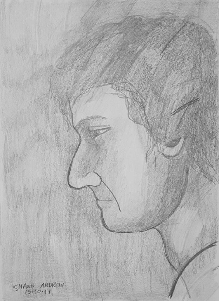 Figure drawing study - Lumocolo - shawnartist | ello