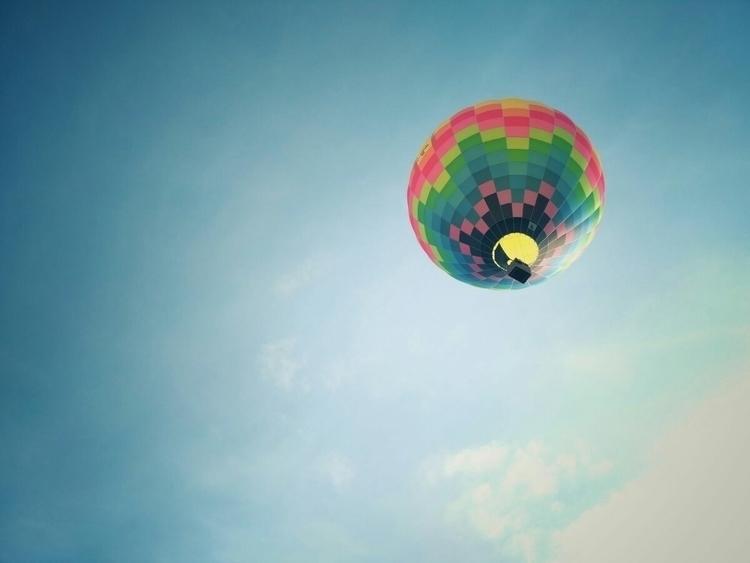 balloon, julich, colors, sky - mickx100 | ello