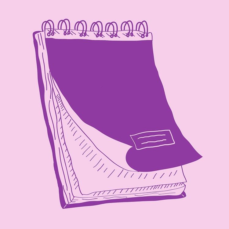 Notebooks Inktober Day 21 - illustration - nigli | ello