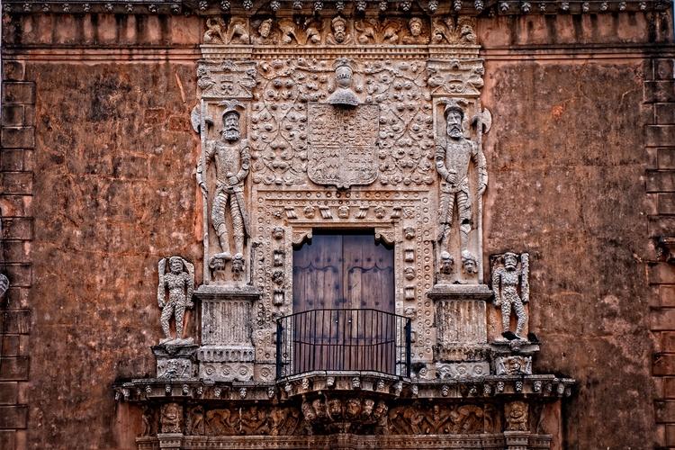 Stone Conquerors Detail facade  - mattgharvey | ello