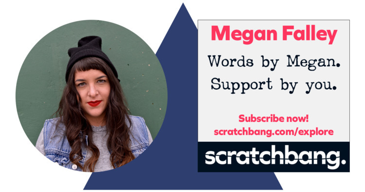 *Megan Falley* Support favorite - scratchbang   ello