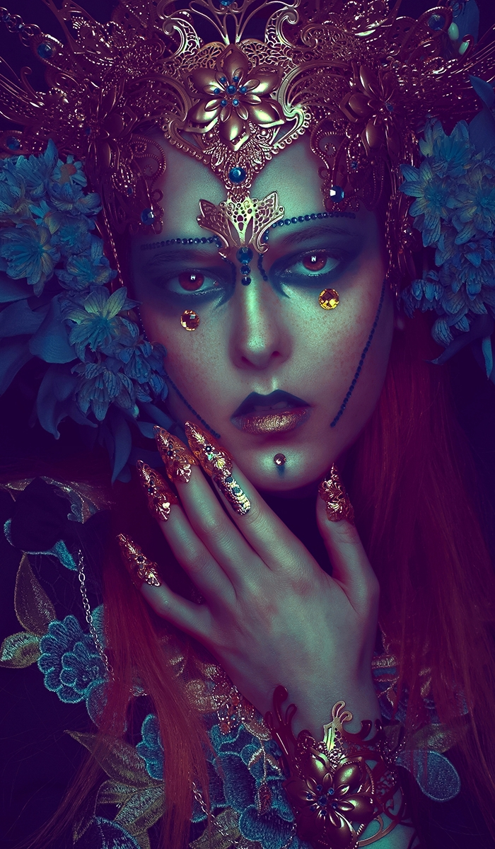 """Elves"" — Photographer/Model: R - darkbeautymag 