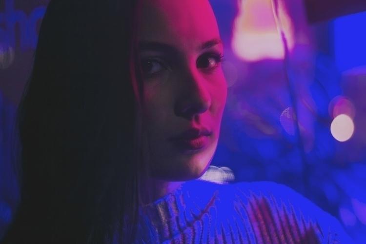 Souki - portrait, neon, urban, vibrant - kylie_hazzard_visuals | ello