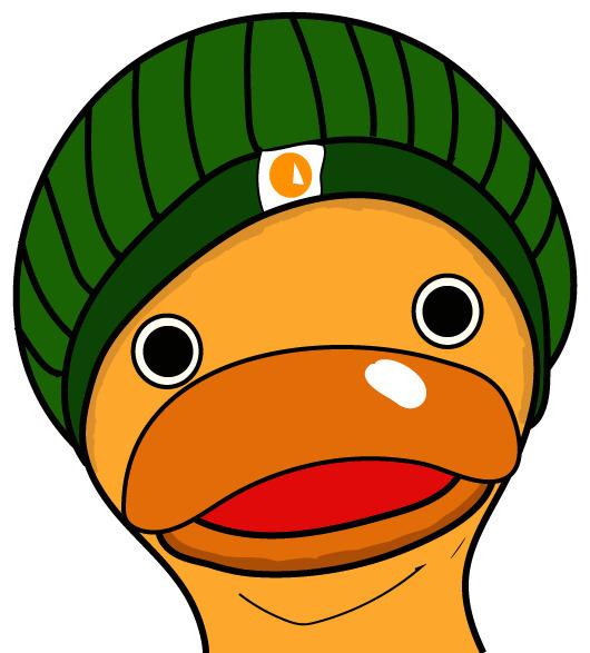 Derp Duck - vector, ducky, nyc, nycartist - cakebruh | ello