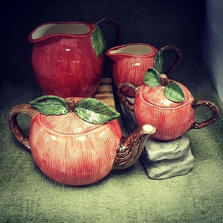 delicious apple tea set pitcher - hiddenlegacy | ello