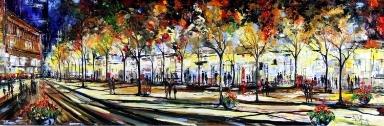 16a Luci Ombre Bruno Oil Canvas - bitfactory | ello