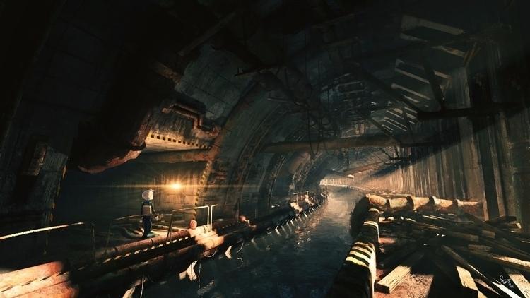 Eastbound Tunnel - SideTrip rea - yuyatakeda | ello
