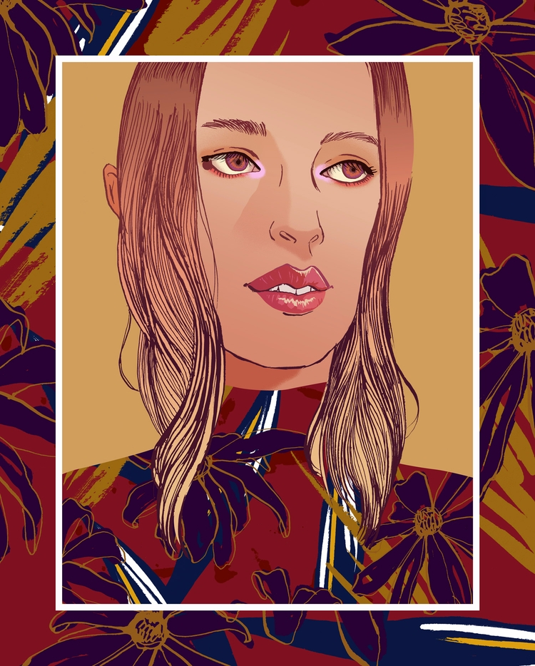 Autumn mood - Fashionillustration - eunjeongyoo   ello