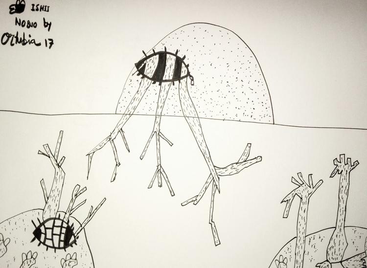 seres extraños bajo el mar Ortu - ortubia_factory | ello