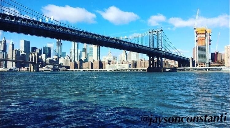 Manhattan Bridge :bridge_at_nig - jaysonconstanti | ello