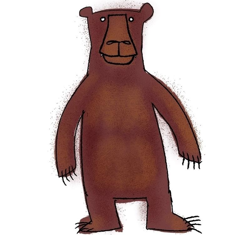 bear, sketch, illustration - reneeleigh | ello