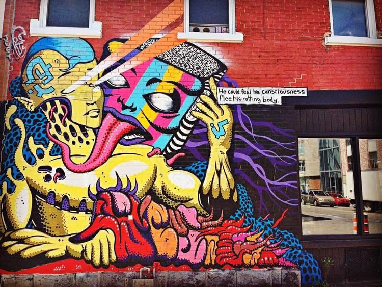 Montreal - StreetArt, photography - davidjdeal | ello