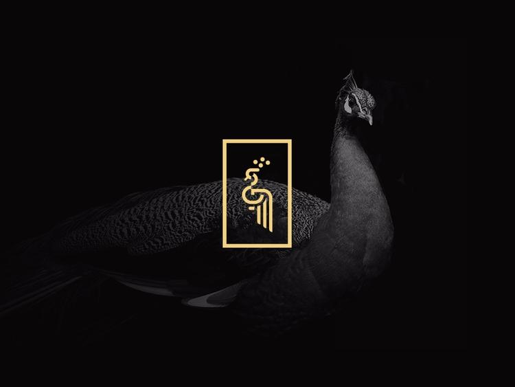 Logo Pavo real - Peacock - Bird - iamok | ello