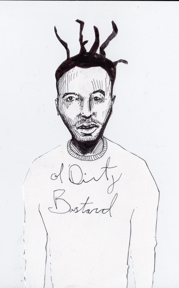 Ol' dirty bastard, portrait Ret - bodhikah | ello