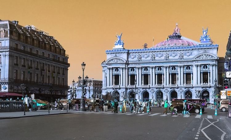 Paris, OperaGarnier, iPhonography - fidelpix | ello