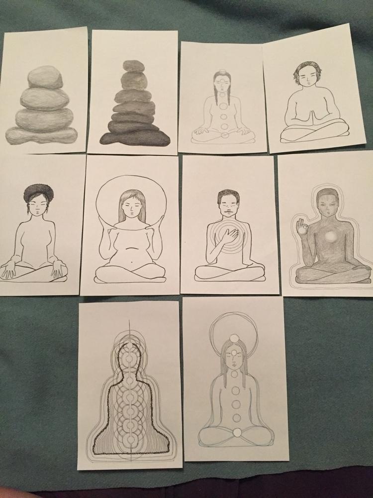 Images zine - meditation, chakras - odeimin   ello