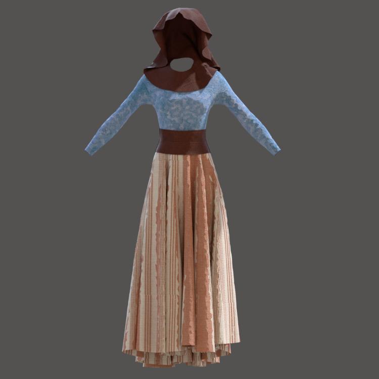 Peasant#fashion - 3d, 3dmodel, model - solutuminvictus | ello