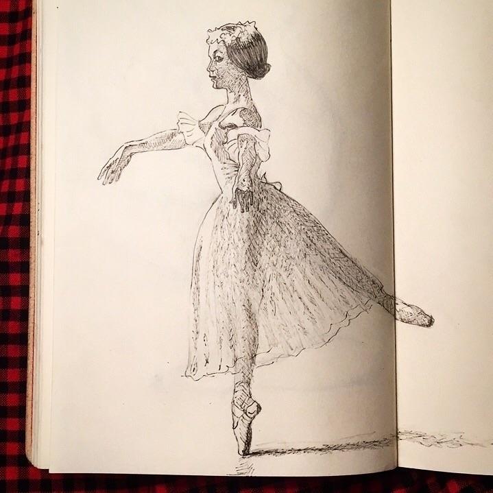 pen, ballerina - erycmoss | ello