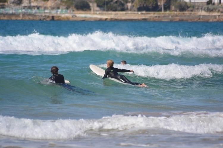 days consist sand, waves sun - rachaeldunstan | ello