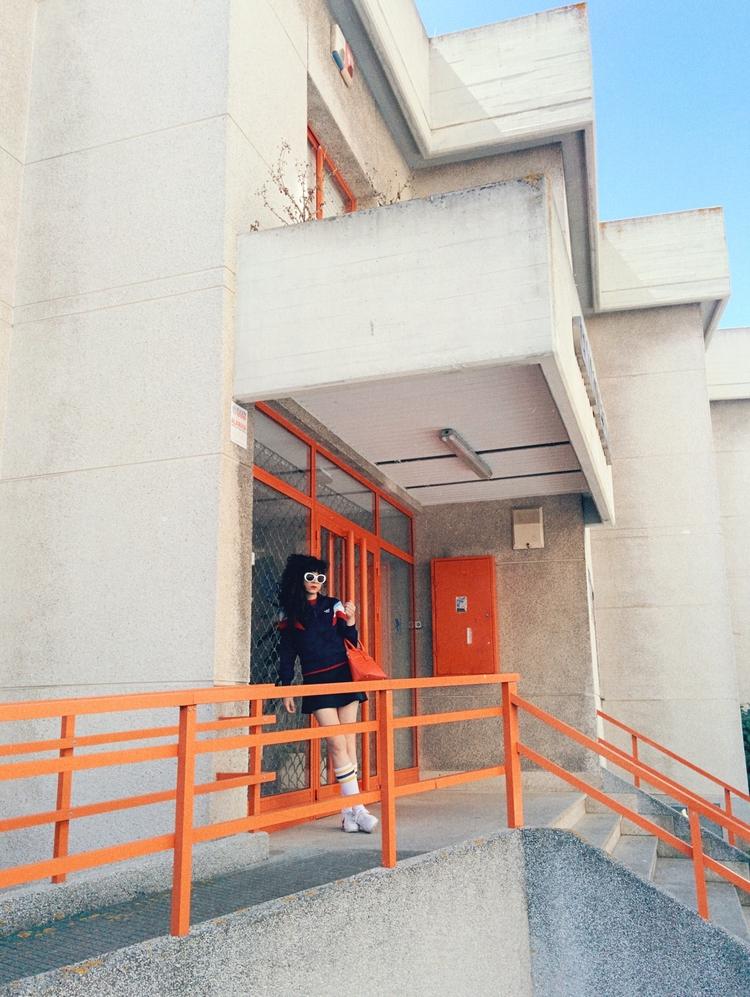 architecture, brutalism, orange - lapremioqueen | ello
