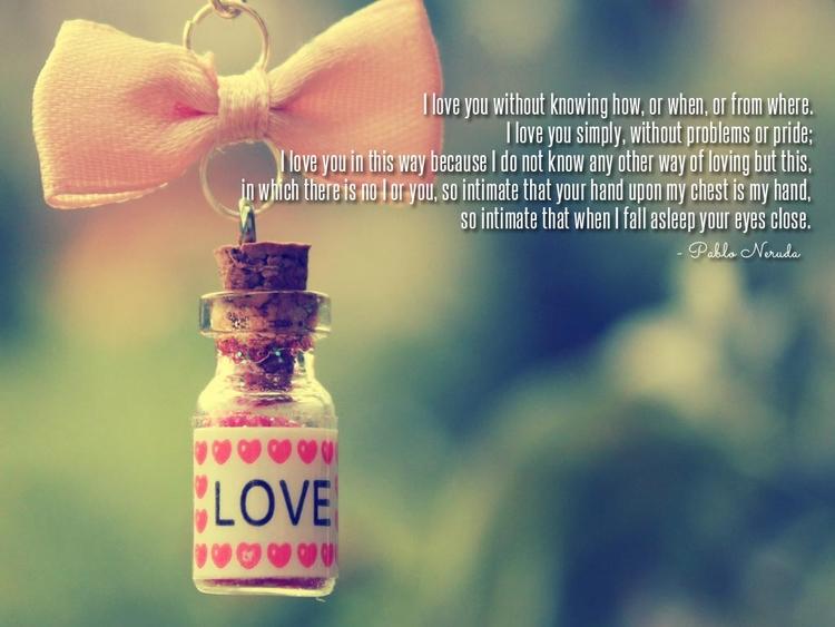 LOVE thinking knowing LOVE, LOV - kipbaldwin | ello