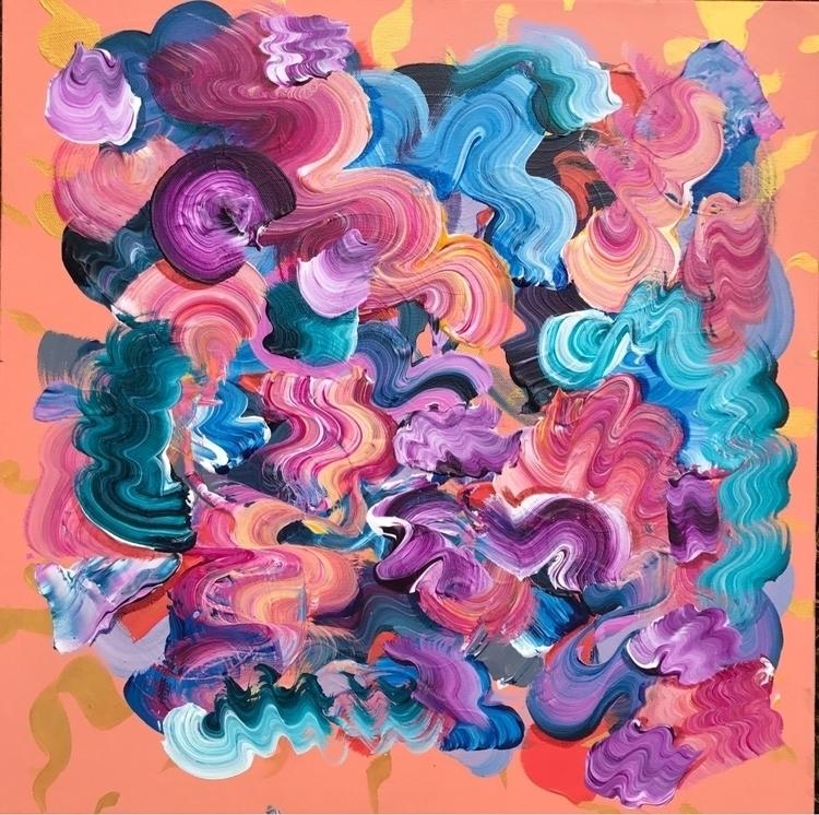 20 20, acrylic canvas - dhuston | ello