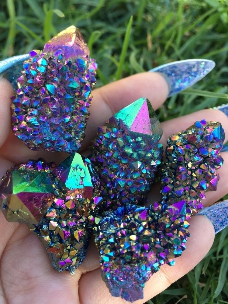Rainbow Titanium Aura Spirit Qu - prismsouls | ello