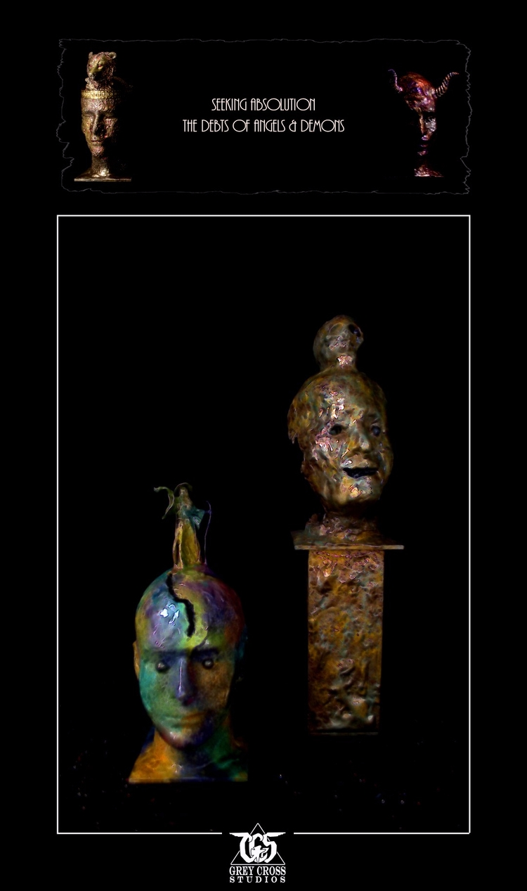 sculptures completed Seeking Ab - greycrossstudios | ello