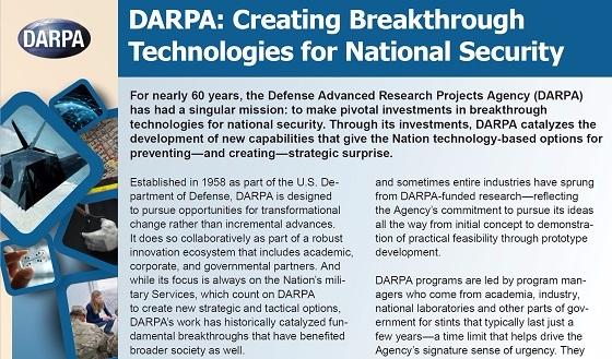 DARPA Funds Technological Start - batr | ello