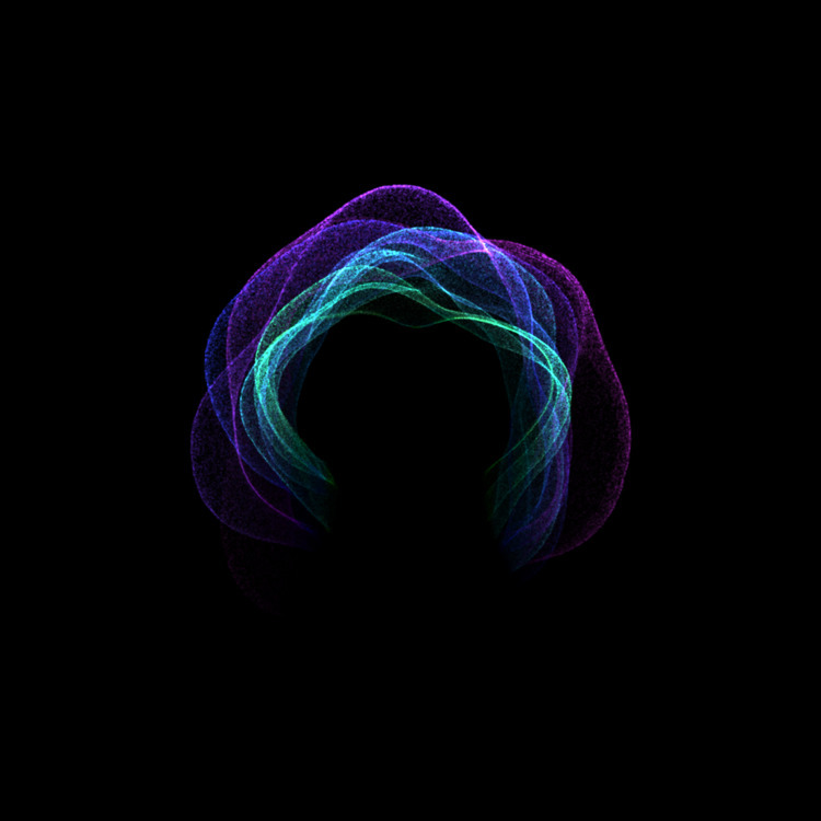 Spectral Vortex 4 - creativecoding - defmech | ello