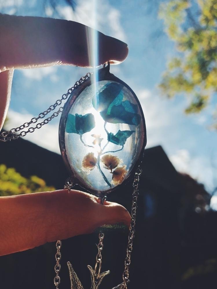 Beautiful handmade pendant natu - valeriaprieto | ello