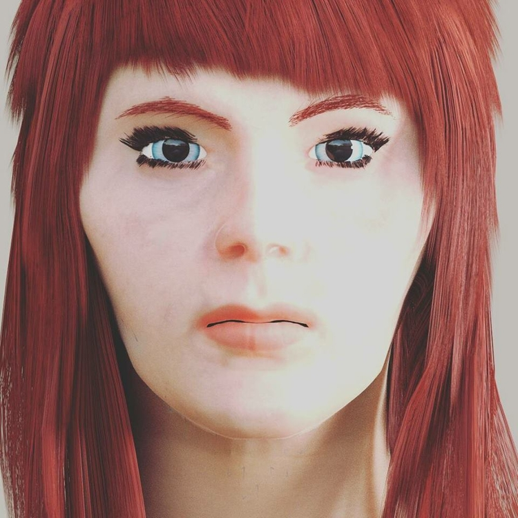 Ruby #portrait - game, gameart, gameartist - solutuminvictus | ello