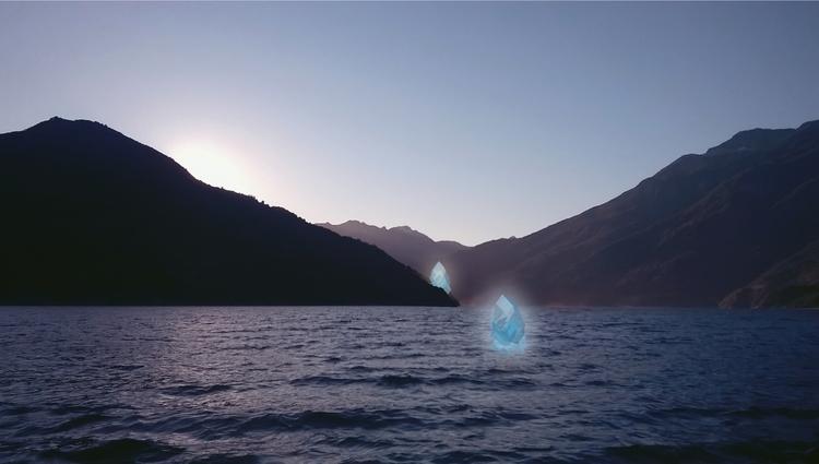 en tus aguas sumerjo - lake, lago - multiplicidad   ello